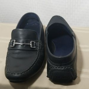 Men's Cole Haan black driving loafers size 8.5